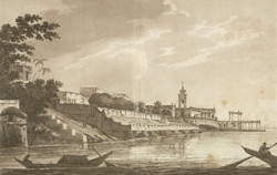 A View of Chinsura, the Dutch Settlement, in Bengal